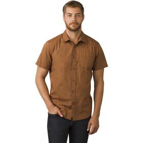 Prana Broderick SS Shirt Herren tree bark